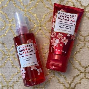 New Bath & Body Works Japanese Cherry Blossom